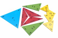 Triangulo geométrico de grados - Didácticos de mayoreo