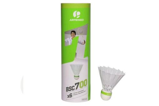 Gallitos de Badminton tubo con 6 piezas - Juguetes de Mayoreo