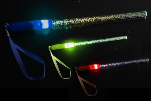 Vara para colgar con luz LED - fiestas de mayoreo