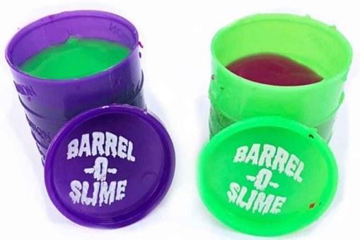 Barrel Slime chico moco de gorila 24 piezas - fiestas de mayoreo