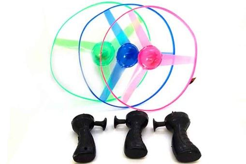 Hélice de luz con lanzador automático - juegos divertidos