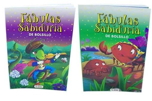 Fábulas Sabiduría de bolsillo 4 tomos - Libros infantiles