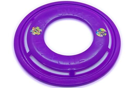 Discos de lanzamiento deportivo, entretenimiento o para mascotas, hecho de polímero reciclado con unas medidas de 285 diámetro x 15 de altura (milímetros) DISCOA