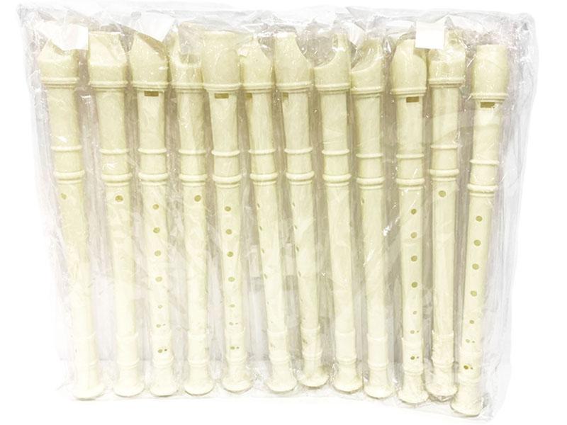 Flautas dulces escolares de juguete paquete con 12 piezas de mayoreo