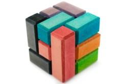 Cubo soma 7.5 cm rompecabezas de madera - Wiwi Juegos de Mayoreo