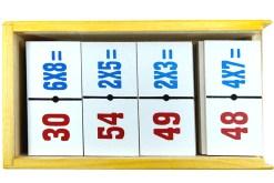 Dominó Matemático tablas de multiplicar - Wiwi didácticos de mayoreo