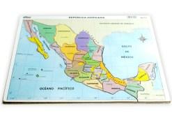 Rompecabezas Mapa de México - Wiwi didácticos de mayoreo