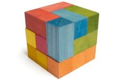 Cubo soma 10 cm rompecabezas de madera - Wiwi Juegos de Mayoreo