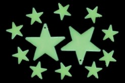 Stars Glow in the dark 12 piezas-Wiwi de mayoreo
