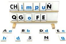 juguetes educativos, Juego Alfabeto Móvil de madera - Wiwi didácticos de mayoreo