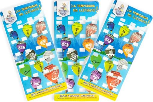 Exhibidor de trompos profesionales ¡GRATIS! - Wiwi juegos de mayoreo