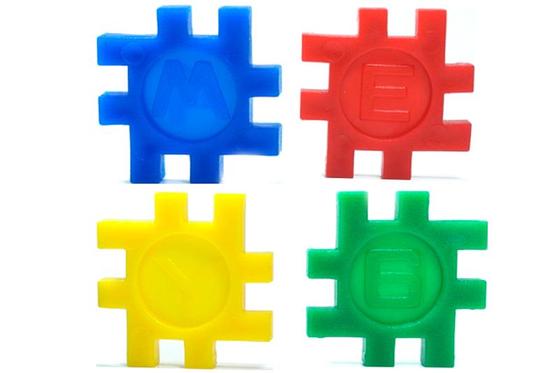 Cuadritos Didácticos de ensamble - Wiwi bloques de mayoreo