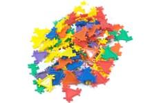 Triángulos Didácticos de ensamble - Wiwi bloques de mayoreo