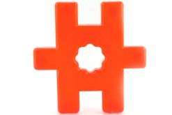 "Formas ""H"" Didácticas de ensamble - Wiwi bloques de mayoreo"