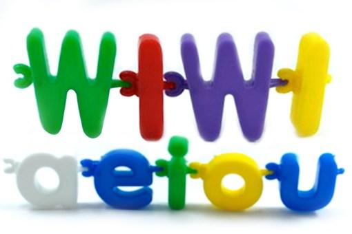 Cadena de Letras Didácticos - Wiwi bloques de mayoreo
