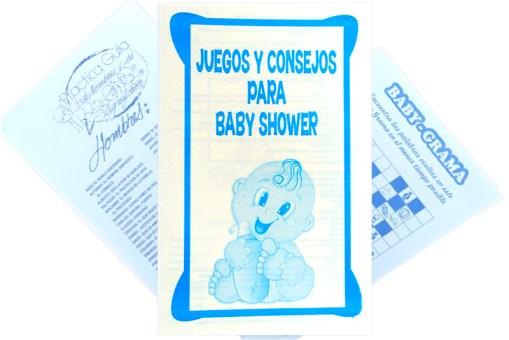 juguetes para fiestas, Baby Shower 12 juegos - Wiwi fiestas de Mayoreo