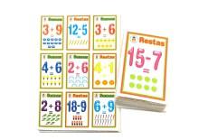 Lotería Didáctica Sumas y Restas - Wiwi Loterías de Mayoreo