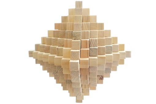 Rompecabezas 3D Diamante 99 de madera - Wiwi Juegos de mayoreo