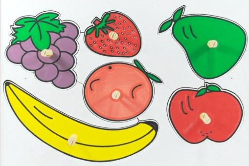 Rompecabezas Frutas y Herramientas de resaque - Didácticos de mayoreo