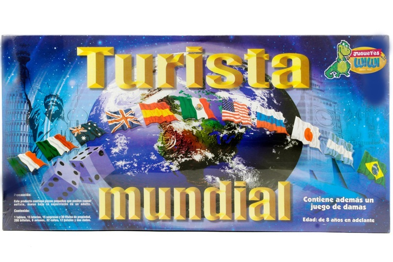 Turista Mundial Grande Juego De Mesa Wiwi Juegos De Mayoreo Wiwi