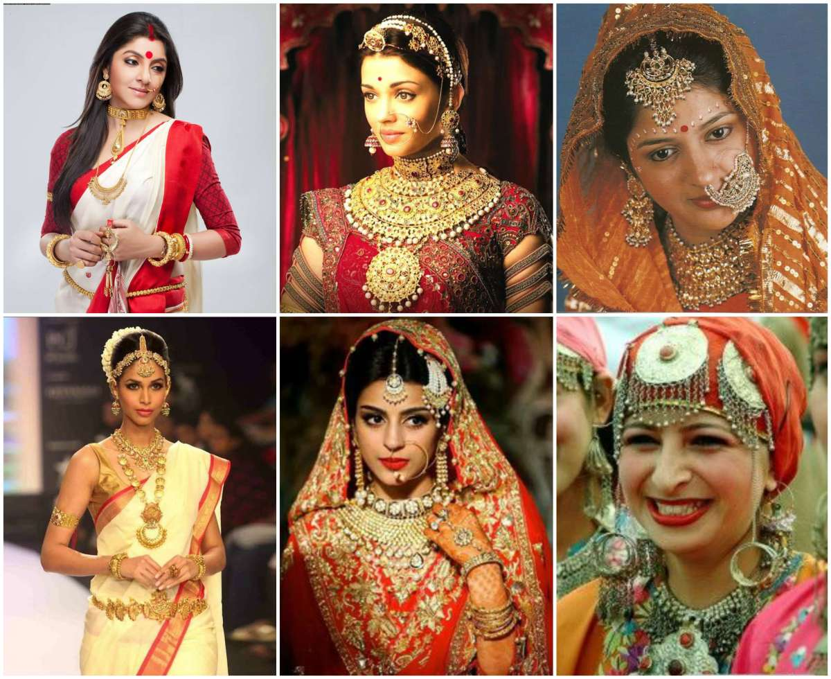 Types of jewelry famous in various states of India