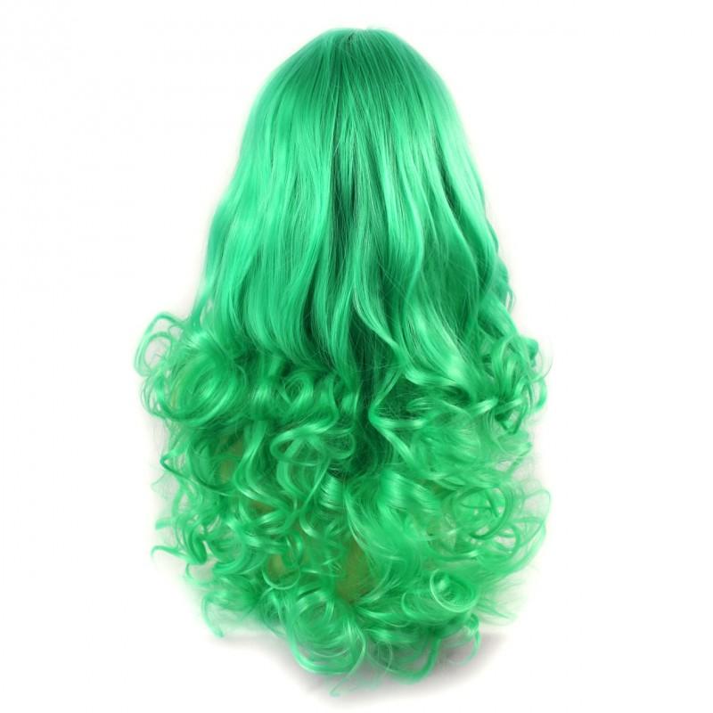 Wiwigs Wiwigs Romantic Long Curly Wig Green Amp Light