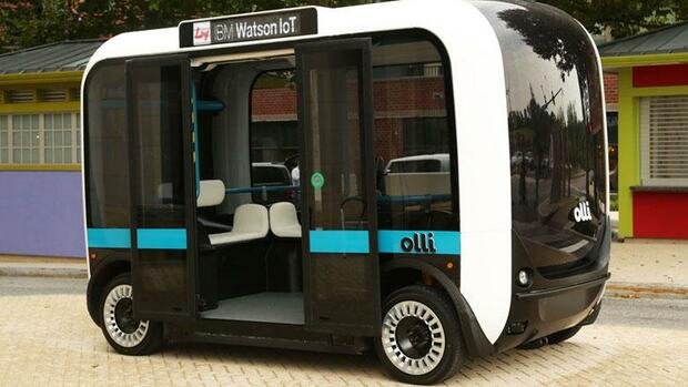 """Olli"". Quelle: Local Motors"