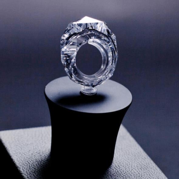 150 Carat All Diamond Ring Wixon Jewelers