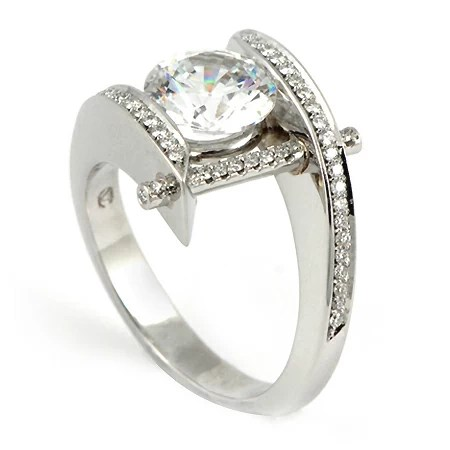 Pure Perfection Engagement Ring By Claude Thibaudeau