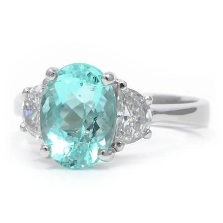 Paraiba Tourmaline Amp Diamond Ring Wixon Jewelers
