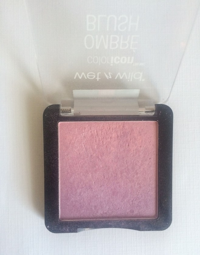 Wet n Wild Color Icon Ombre Blush in In a Purple Haze Closeup   The Rebel Planner