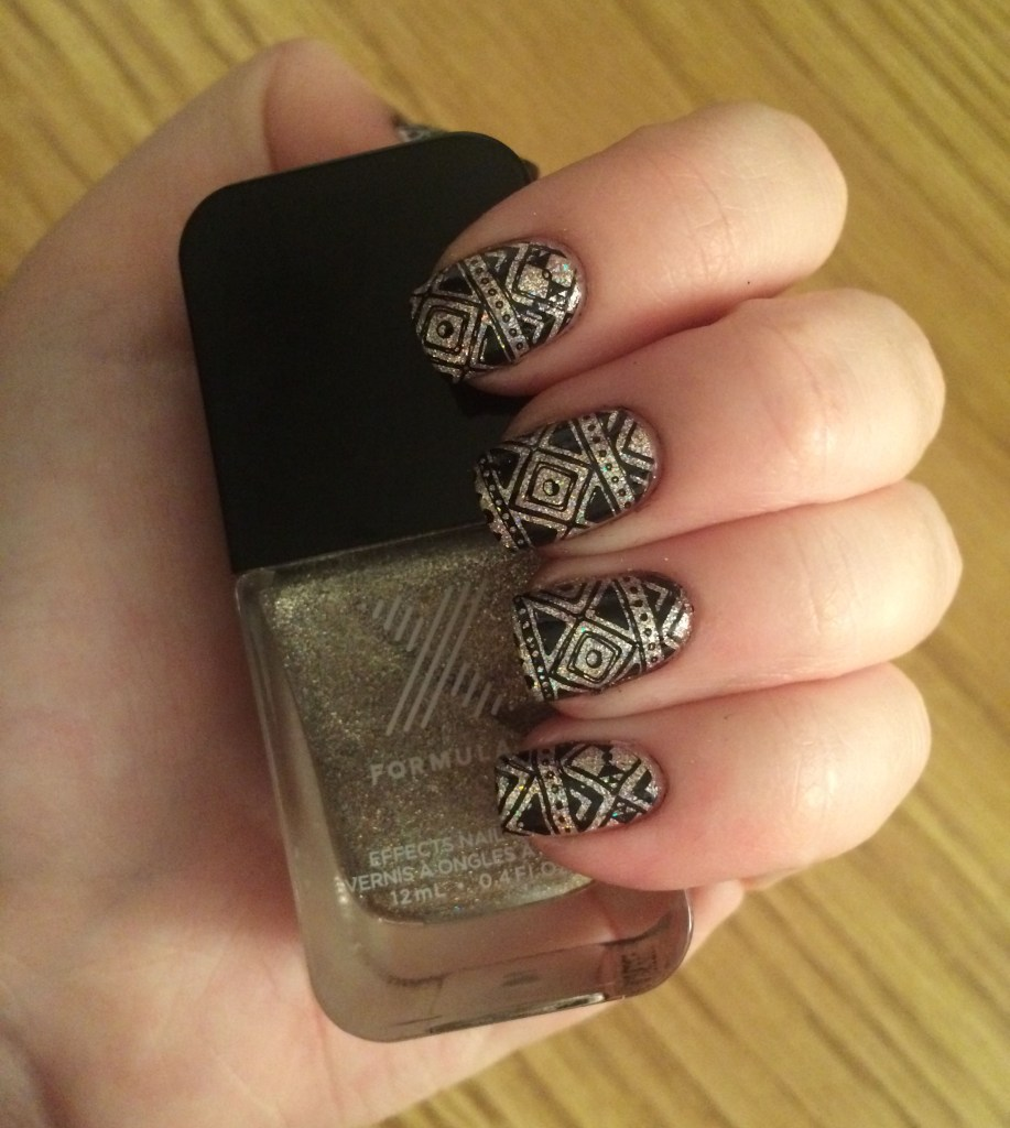 Aztec Holographic #NOTD   The Rebel Planner