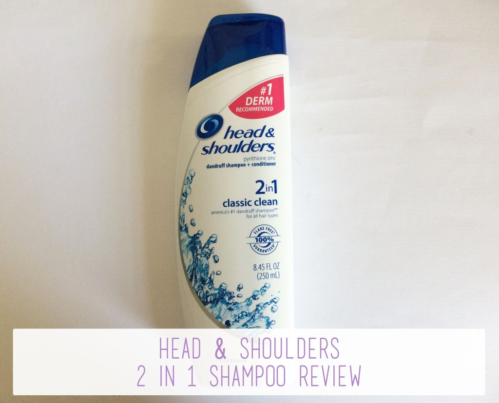 Head & Shoulders 2 in 1 Shampoo Review Overview | The Rebel Planner
