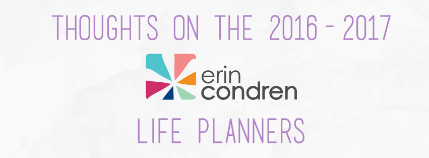Thoughts of the Erin Condren Life Planners   The Rebel Planner