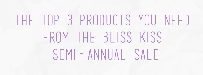 Bliss Kiss Semi-Annual Sale   The Rebel Planner
