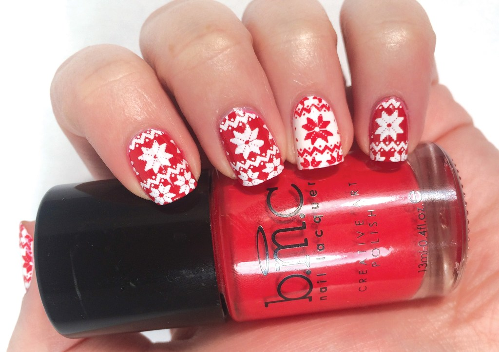 Ugly Christmas Sweater Nail Art #NOTD | The Rebel Planner