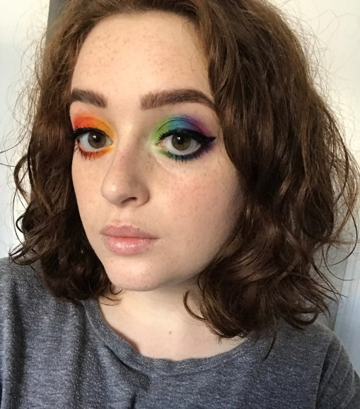 Gay Pride Makeup