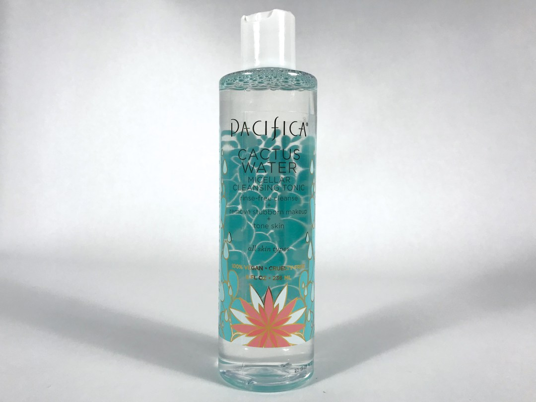 Pacifica Cactus Water Micellar Cleansing Tonic Review