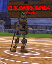 CreatureClockwork Golem Arena Tutorial  Wizard101 Wiki