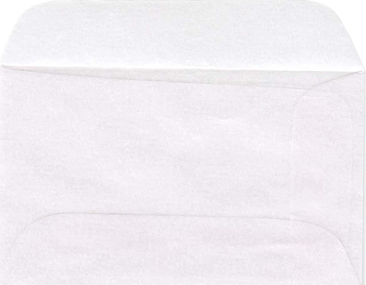 Glassine Envelopes 1 2 7 8 X 1 3 4