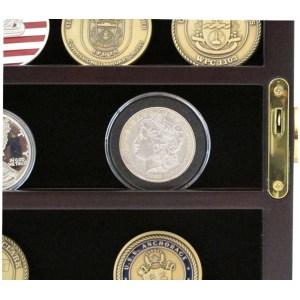Corner Custom Military Challenge Coin Display Case Custom