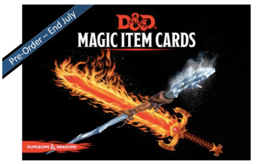 Preview Update: D&D Magic Item Cards by GF9 - Wizard's Laboratory