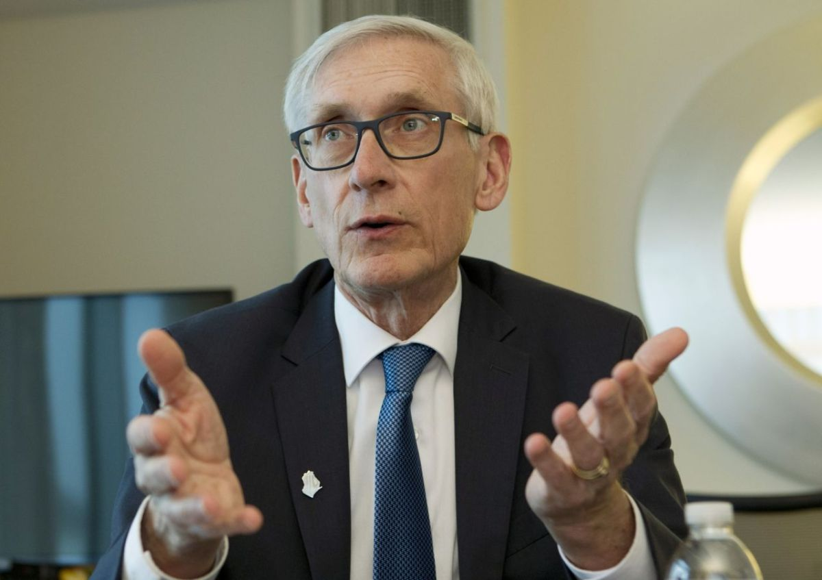 Evers can't answer why he vetoed bill: 'You caught me' – WIZM 92.3FM 1410AM