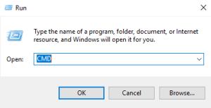 Open windows command prompt