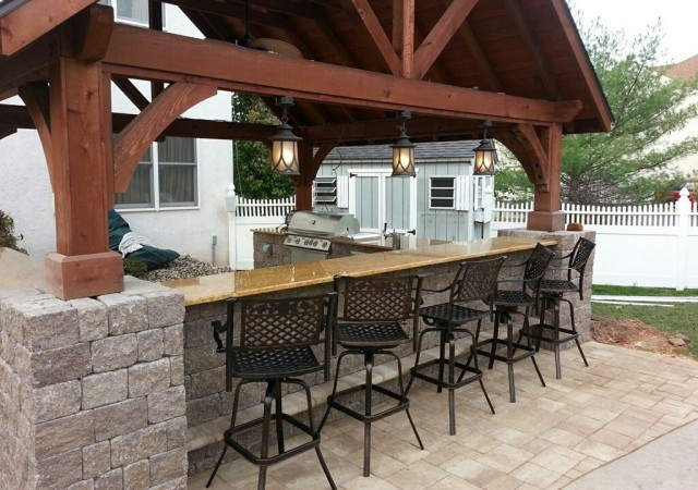 outdoor kitchen bar of india kitchens collegeville blue bell chester montgomery county wja landscaping www wjalandscaping com