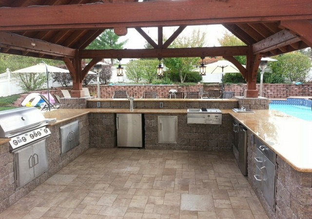 how much does an outdoor kitchen cost gold kitchens collegeville blue bell chester montgomery county wja landscaping www wjalandscaping com