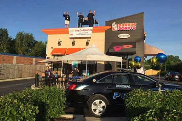 Bloomington Normal cops spend day on roof for Special