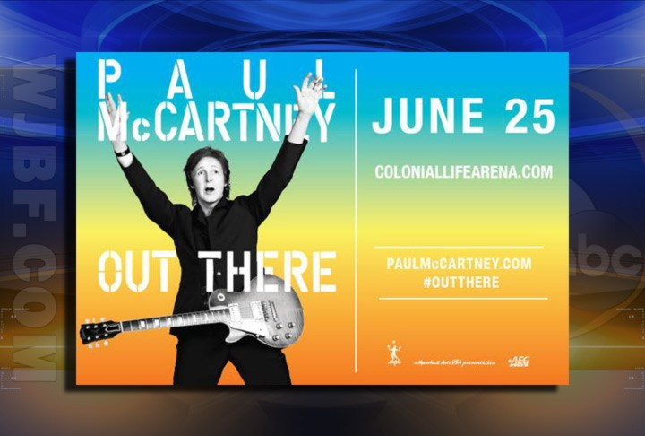 Paul McCartney To Perform June 25th In Columbia (Image 1)_27452