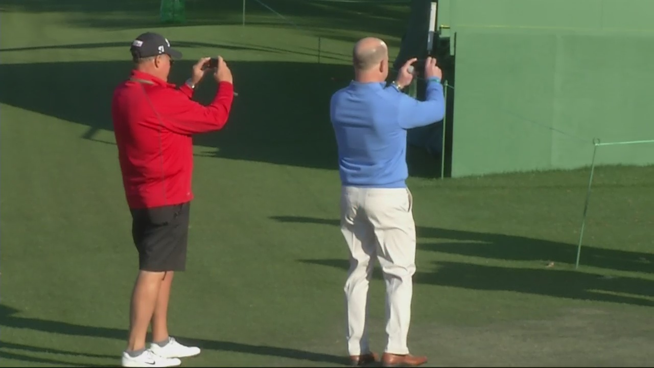 Masters Patrons Weigh In on the Value of a Picture at Augusta National Golf Club