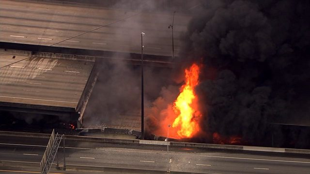 Collapsed portion of I-85 in Atlanta (WSB)_242686